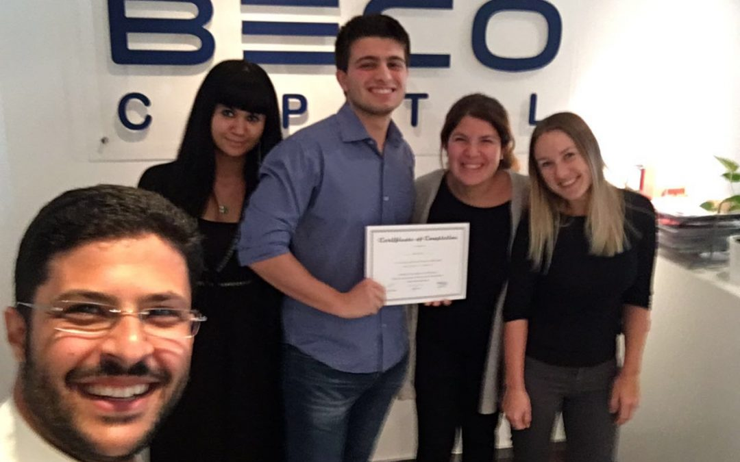 Starting up 101: What I learned at BECO