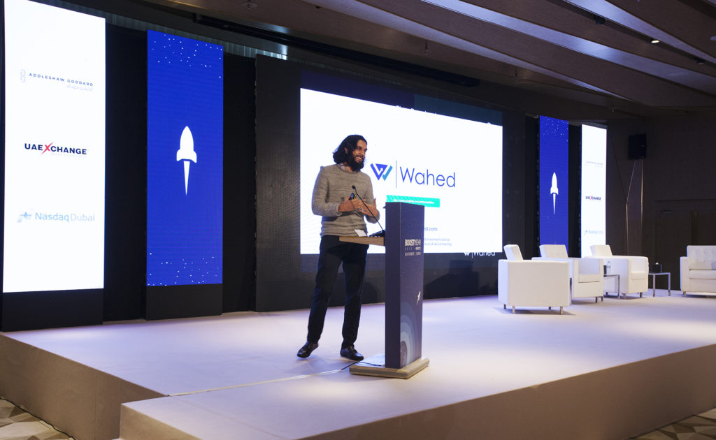 Junaid Wahedna, Founder and CEO, Wahed Invest at BOOSTMENA 2017
